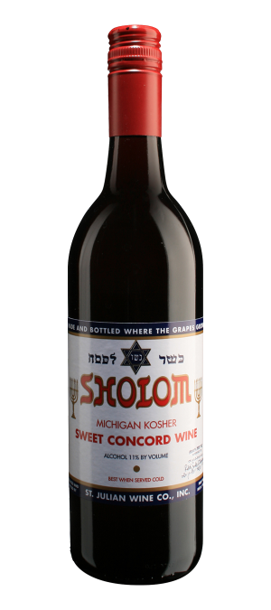 Sholom - Michigan's Best Kosher Sweet Red Wine